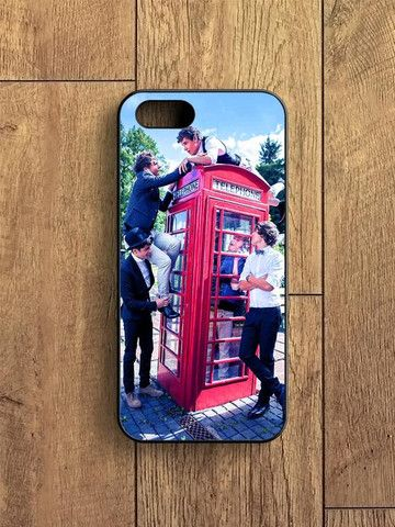 1d Telephone Box One Direction iPhone 5|S Case