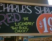 charles shaw wine -