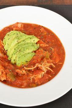 Hebben jullie inmiddels al een slowcooker? Nee? Die zou ik dan heel snel aanschaffen want dan maak je dit Enchilada-potje in een handomdraai.