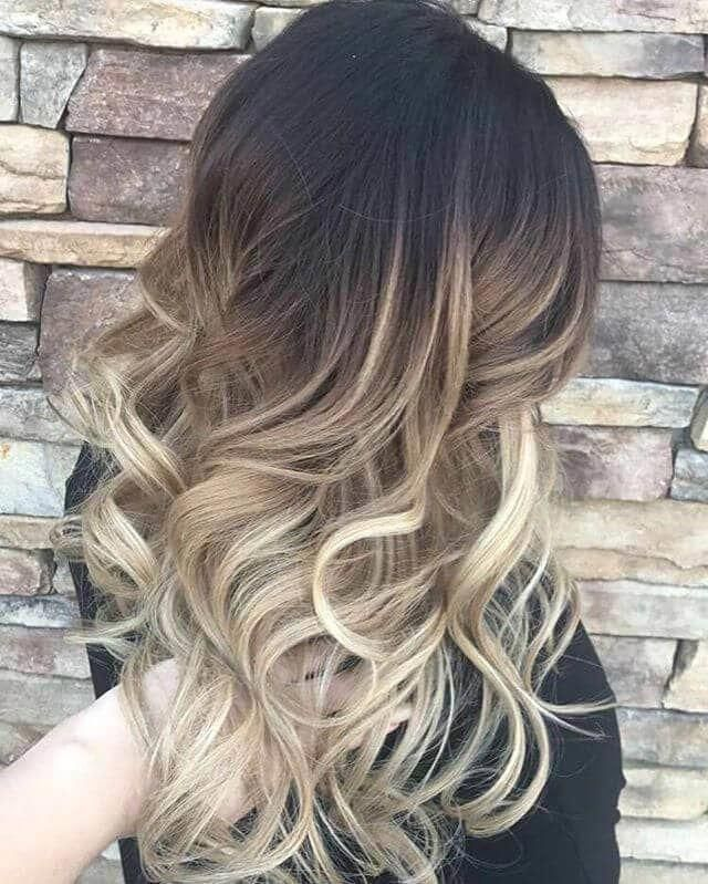 Two Toned Short Haircuts Featuring Blonde And Brown Hair Colors