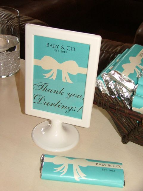 Breakfast at Tiffany's Baby Shower http://www.artfire.com/ext/shop/product_view/7817672