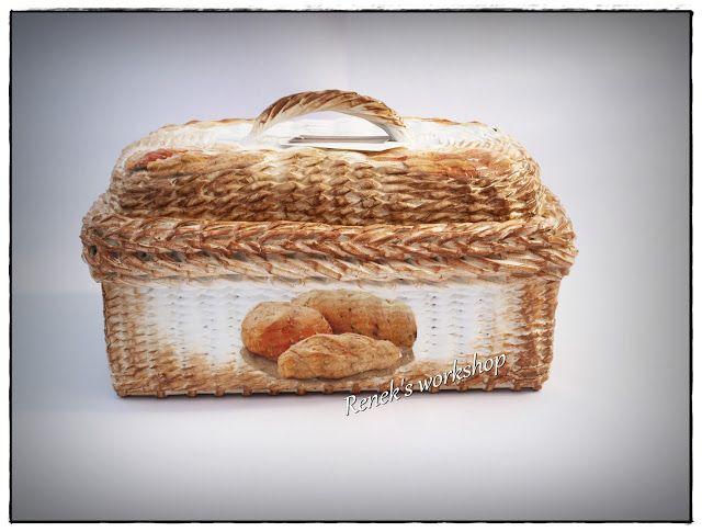 cesto para o pão