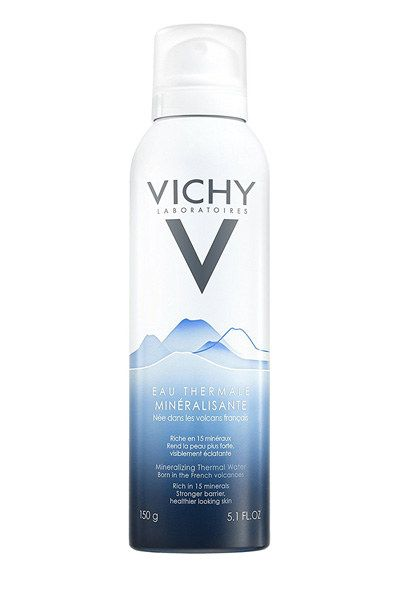 Vichy Mineralizing Thermal Spa Water, to get face water straight from a French volcano. | 22 French Pharmacy Products That People Actually Swear By