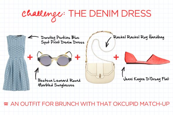 no fail outfit: Summer Brunch Outfits, Denim Dresses, Fails Outfits, Cute Outfits, Cute Summer Outfits, Outfits Refinery29, Outfits Clothing, Demi Dresses, Foolproof Outfits