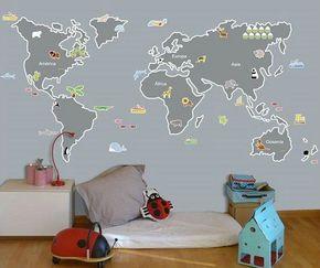 De lunes a domingo: Vinilos para decorar dormitorios infantiles.