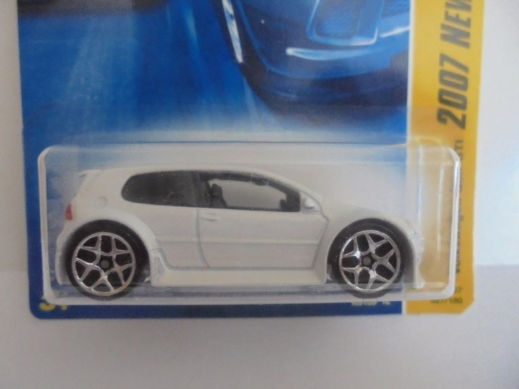 Nice Awesome VOLKSWAGEN GOLF GTI   2007 HOT WHEELS NEW MODELS SERIES   WHITE 2018 Check more at http://auto24.ml/blog/awesome-volkswagen-golf-gti-2007-hot-wheels-new-models-series-white-2018/