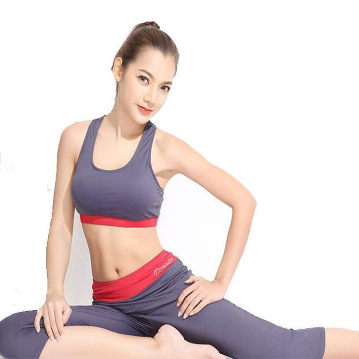 Newest yoga set women sports bra Sexy push up Gym Breathable Fitness Clothes Workout sport costumes for women capris