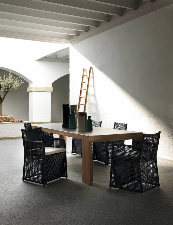 The Chicago Collection Dining Armchairs From Expormim