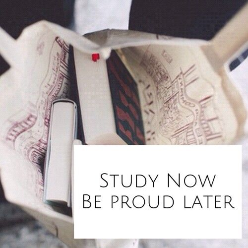 Study now,be proud later.