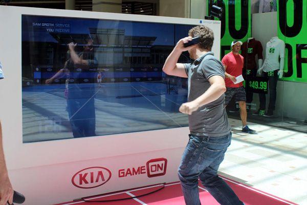 virtuelle faen rør tennis