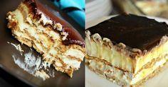 Вкуснющий торт-эклер без выпечки: этот десерт вскружит голову любому сладкоежке!