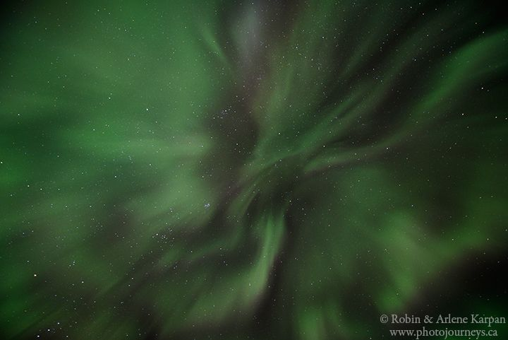 Northern Lights in the Thickwood Hills.