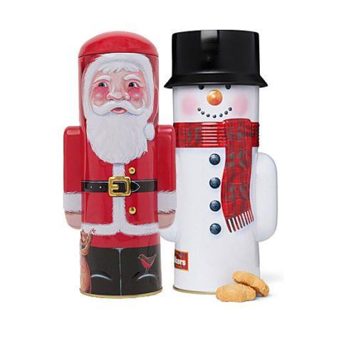 Walker's Santa and Snowman tins