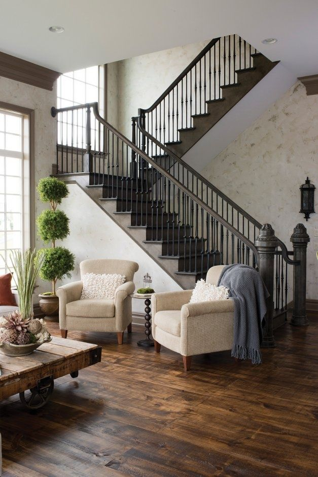 Rustic U0026 Refined Staircase   Susquehanna Style   I Really Love This!