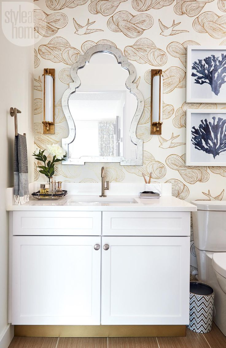 Bathroom design by Tim Lam l Photo by Donna Griffith via @styleathome |  Keeley Tall