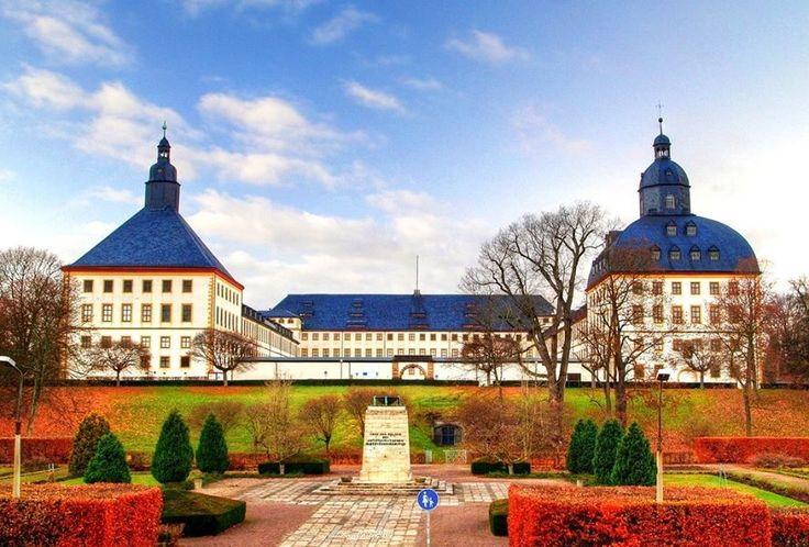 GERMANY ~ Friedenstein Castle is an early Baroque palace built in the mid-17th century by Ernest I, Duke of Saxe-Gotha at Gotha, Thuringia, Germany.