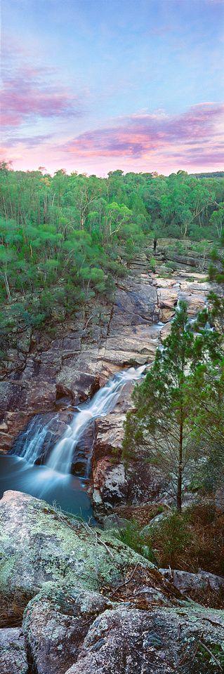 Woolshed Falls Sunset, Beechworth Victoria, Australia