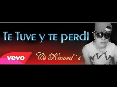 ▶ MRS Official-Te tuve y te perdi(LETRA) Rap Romantico/desamor 2014 - YouTube