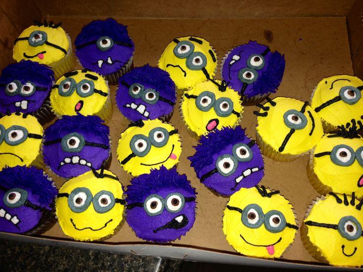 Despicable Me Minion cupcakes!