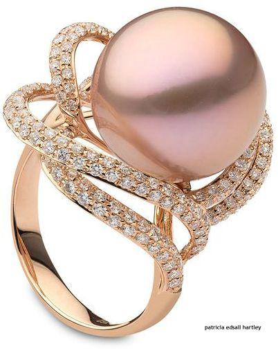 Rosamaria G Frangini   Pearl Poetry   Yoko London, Capri Collection Ring