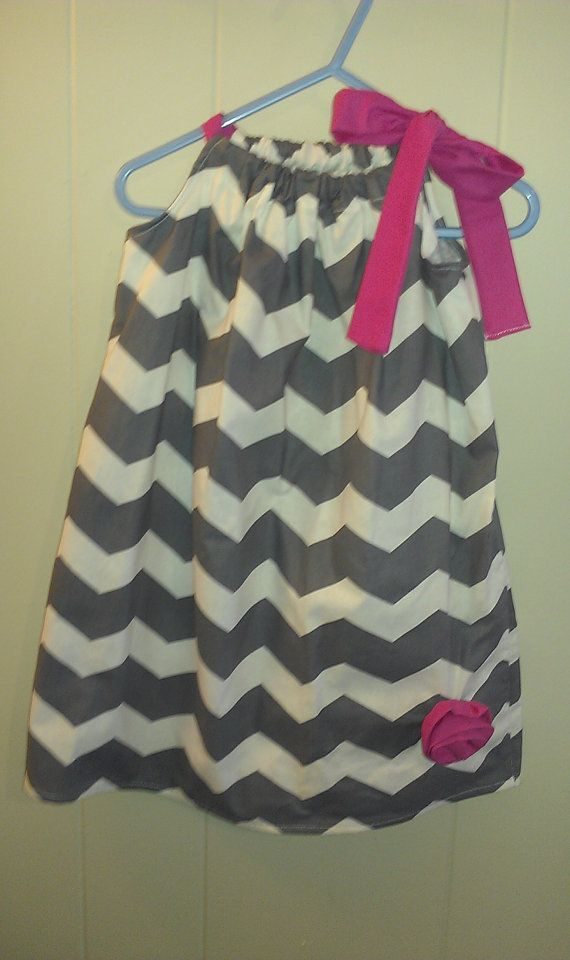 Gray and pink chevron size 12 month pillow case dress only $13.00 on etsy! & 693 best Sewing: Children Outfits images on Pinterest | Sewing ... pillowsntoast.com