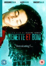 NENETTE ET BONI(15) 1996 FRANCE DENIS, CLAIRE £15.99 Boni (Grégoire Colin) has enough trouble containing his erotic fixation with the local baker's wife, but when his estranged younger sister, Nenette (Alice Houri), arrives on his doorstep claiming she's pregnant, a whole host of new problems come to the fore. www.worldonlinecinema.com