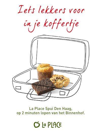 Inhaker prinsjesdag 2012 La Place: koffertje