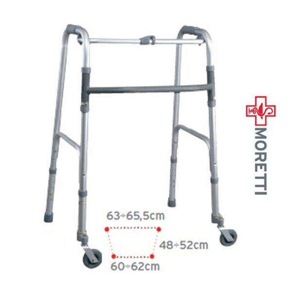 MRP734 - Cadru ortopedic de mers pliabil 2 roti mobile fata, spate fix http://ortopedix.ro/cadru-de-mers/45-mrp734-cadru-de-mers-pliabil-2-roti-mobile-fata-spate-fix.html
