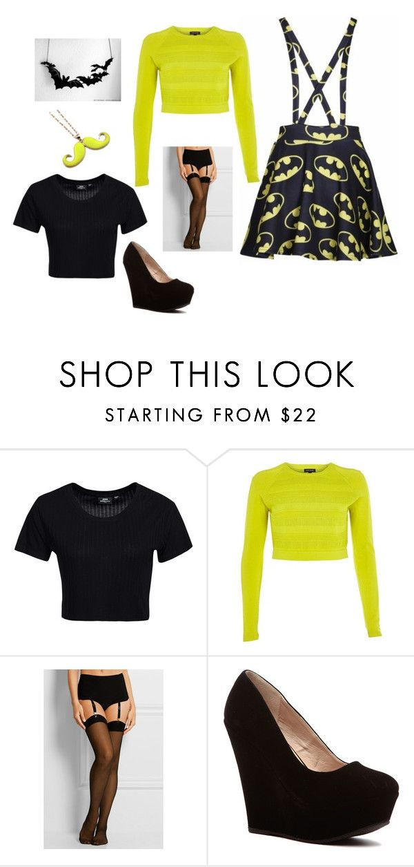 """""""Party, party, party ^^"""" by liveevil94 on Polyvore featuring moda, Dr. Denim, River Island i Wolford"""