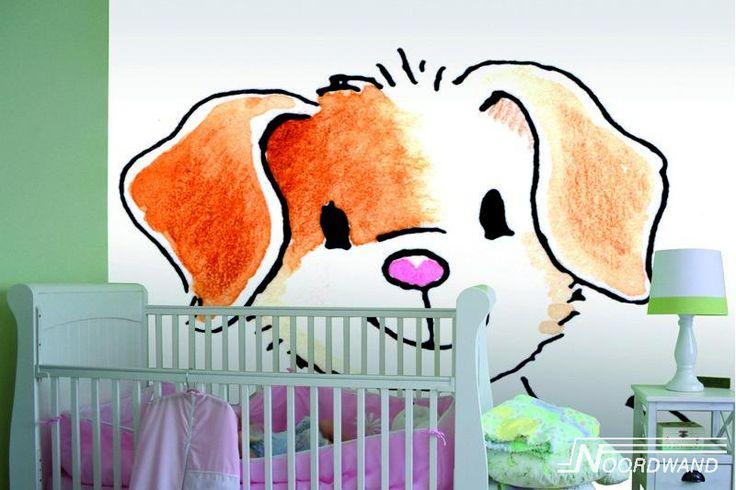 Behang van Sweet Collections. Verkrijgbaar bij Deco Home Bos. www.decohomebos.nl Kijk ook op bord Kinderkamers