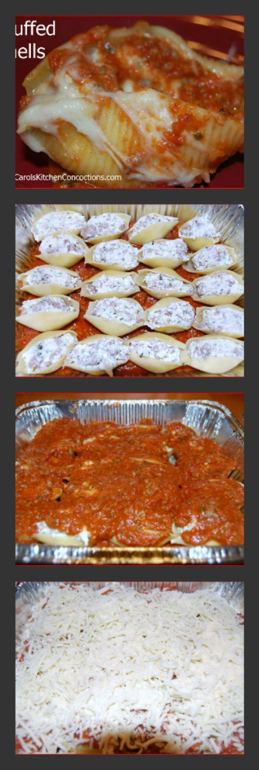 How to make stuffed shells. My all time fave special occasion dinners my mom would make for me