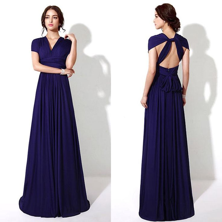 260 best bridesmaid dress images on pinterest weddings for Royal blue wedding dresses cheap