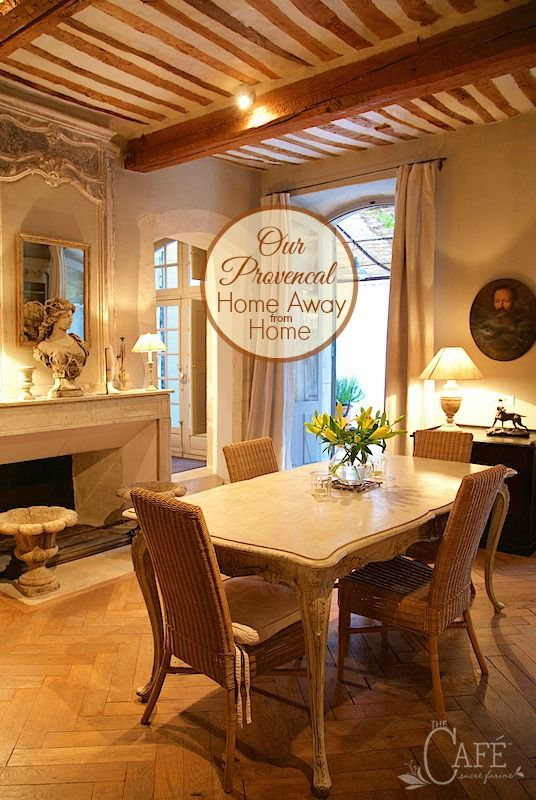 Our Provencal Home Away from Home - join The Café Sucre Farine as we show you the beautiful place we stayed at in Apt, France this fall!
