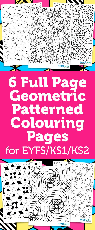 11 best EYFS, KS1, KS2 Colouring Pages images on Pinterest