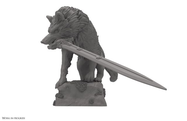 Sif, the Great Grey Wolf