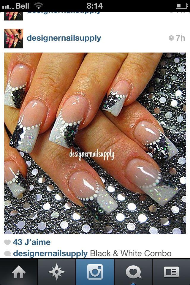 627 best gel nails/ acrylic images on Pinterest   Belle nails, Cute ...
