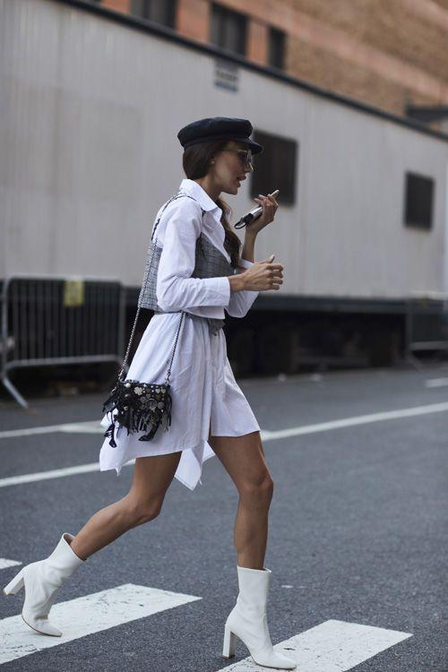 7be3ad6f 15 Botines Blancos de Mujer para este 2019 | me encanta | Botines ...