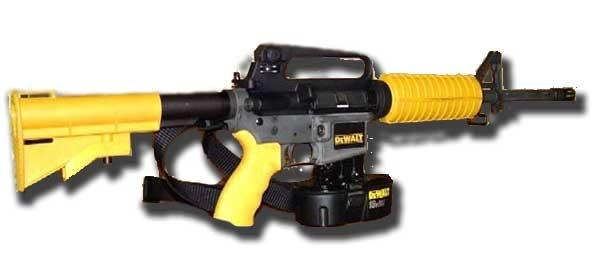 Dewalt nail gun rifle