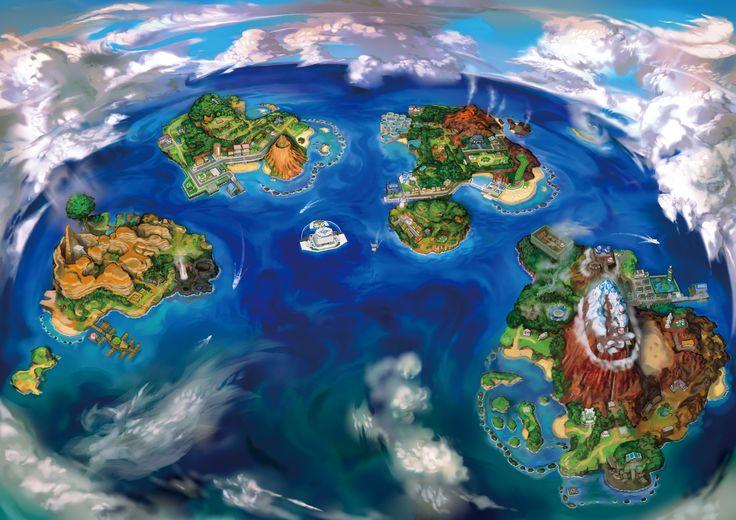 Alola nouvelle région dans Pokémon Soleil et Lune