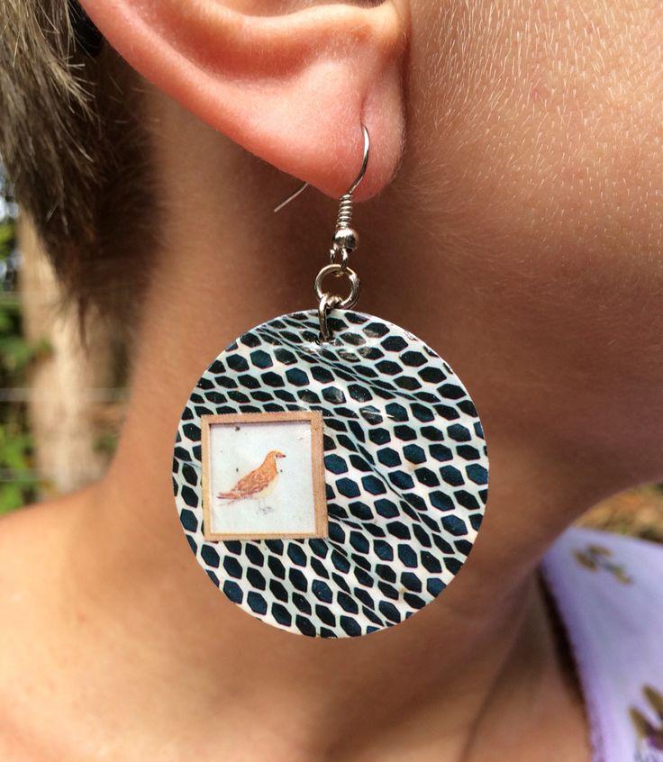 Earring bird $50,00