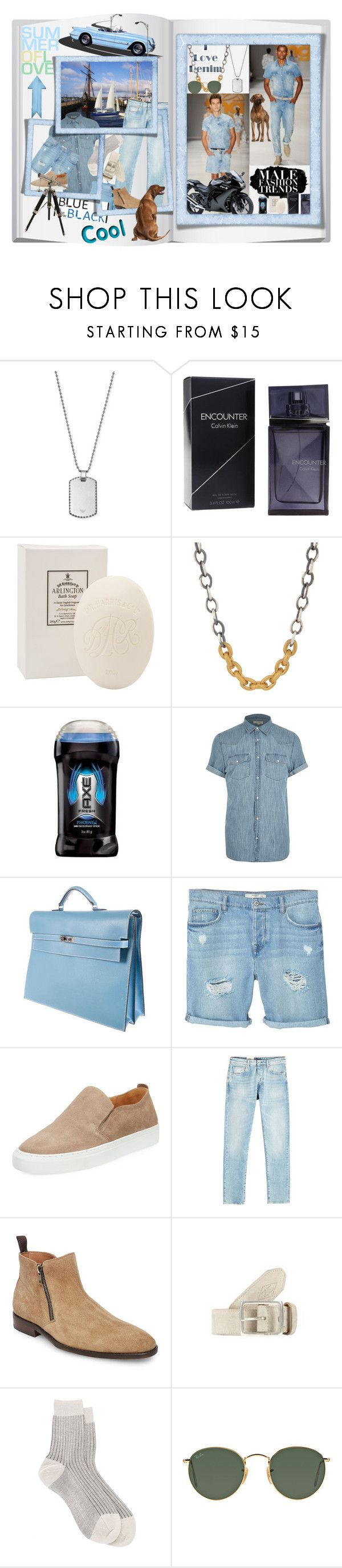 """""""Country roads I just hang on!"""" by nefertiti1373 ❤ liked on Polyvore featuring Ralph Lauren Purple Label, Kawasaki, Emporio Armani, Calvin Klein, D.R. Harris & Co Ltd., Suzanne Felsen, River Island, Hermès, MANGO MAN and Supply Lab"""