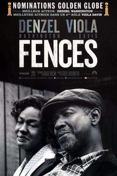 Fences (2016) Regarder Fences (2016)en ligne VF et VOSTFR. Synopsis: Dans les années 1950 à Pittsburgh, Troy Maxon, ancien joueur de la Negro League de basebal...