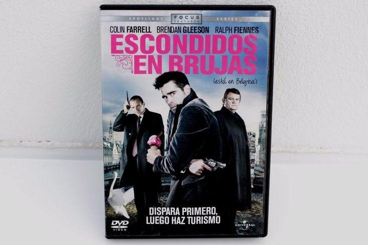 ESCONDIDOS EN BRUJAS - DVD - COLIN FARRELL - BRENDAN GLEESON - RALPH FIENNES