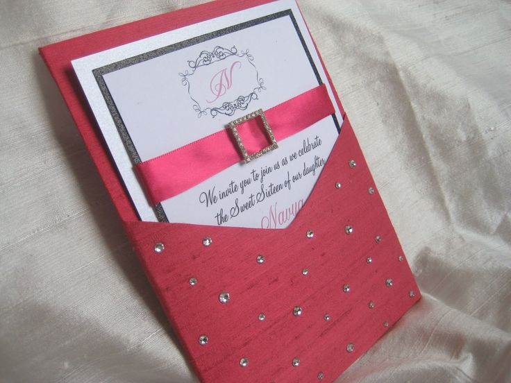 sweet 16 pearls and diamond themed party -   ... Chatter: Diamonds Are a Girl's Best Friend Themed Sweet 16 Invitations