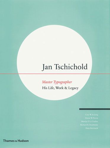 Dichotomous views on typefaces. Jan Tschichold: Master Typographer. #typeface #book