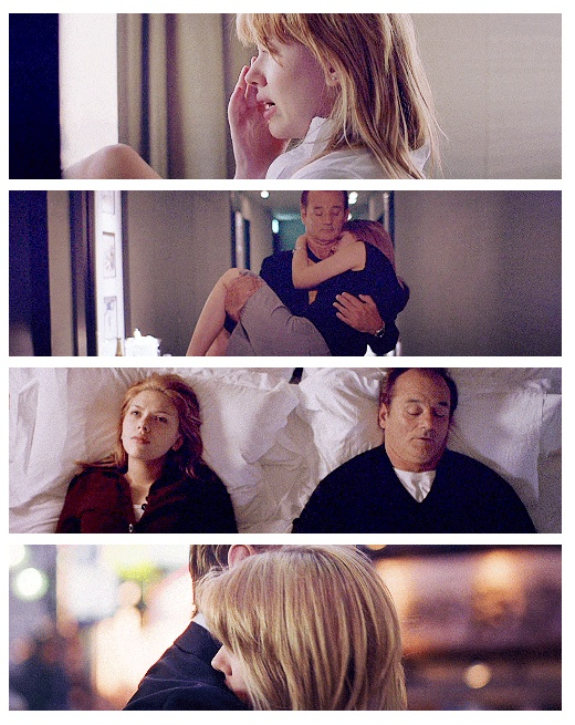 """""""The more you know who you are, and what you want, the less you let things upset you."""" - Lost in Translation (Sofia Coppola, 2003)"""