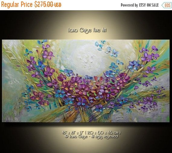CHRISTMAS SPECIAL PRICE 20% off A little by CreativePaletteKnife
