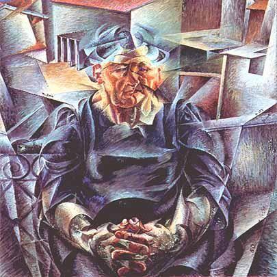 334. Boccioni, Umberto - 1911-12 - Volumi orizzontali