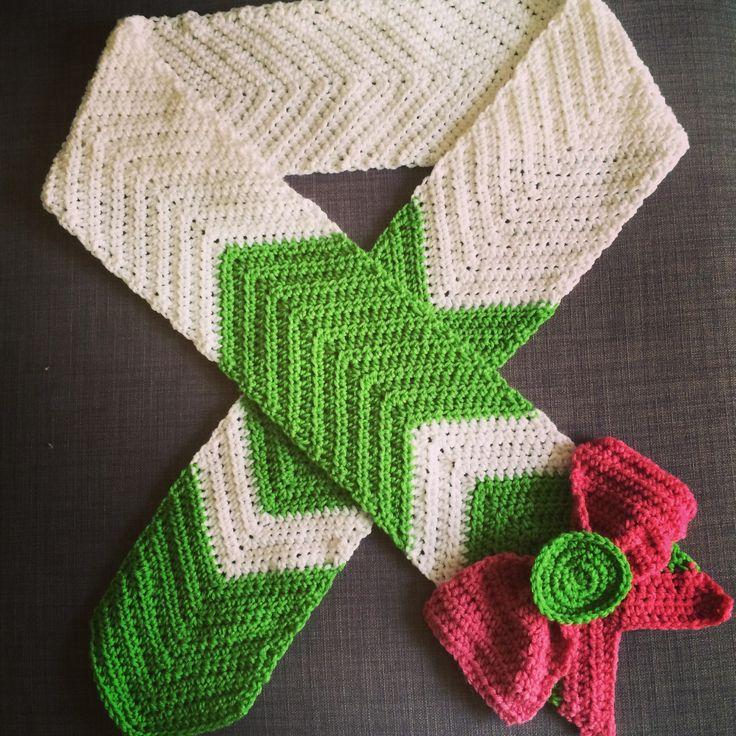 Sailor Moon Crochet Scarf |