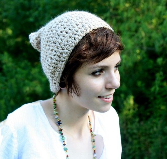 cute hair {and hat, too}